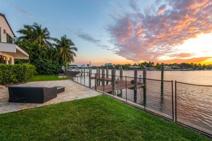 Západy a východy slunce v Miami