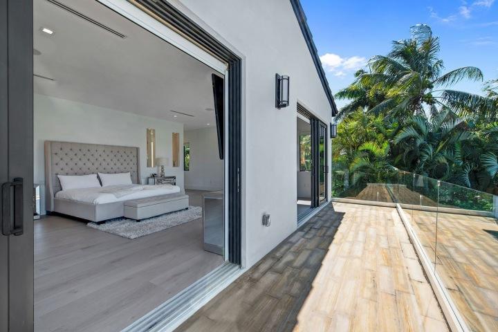 Miami rezidence zajišťuje dostatek soukromí