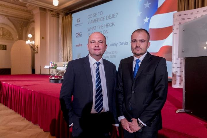Michal Strnad (vpravo)