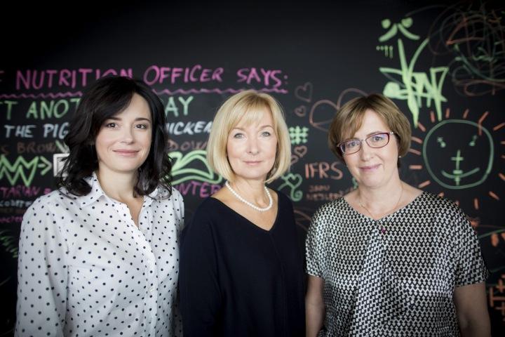 Zleva: Libuše Tomolová, Jarmila Baudišová, Milada Kučerová