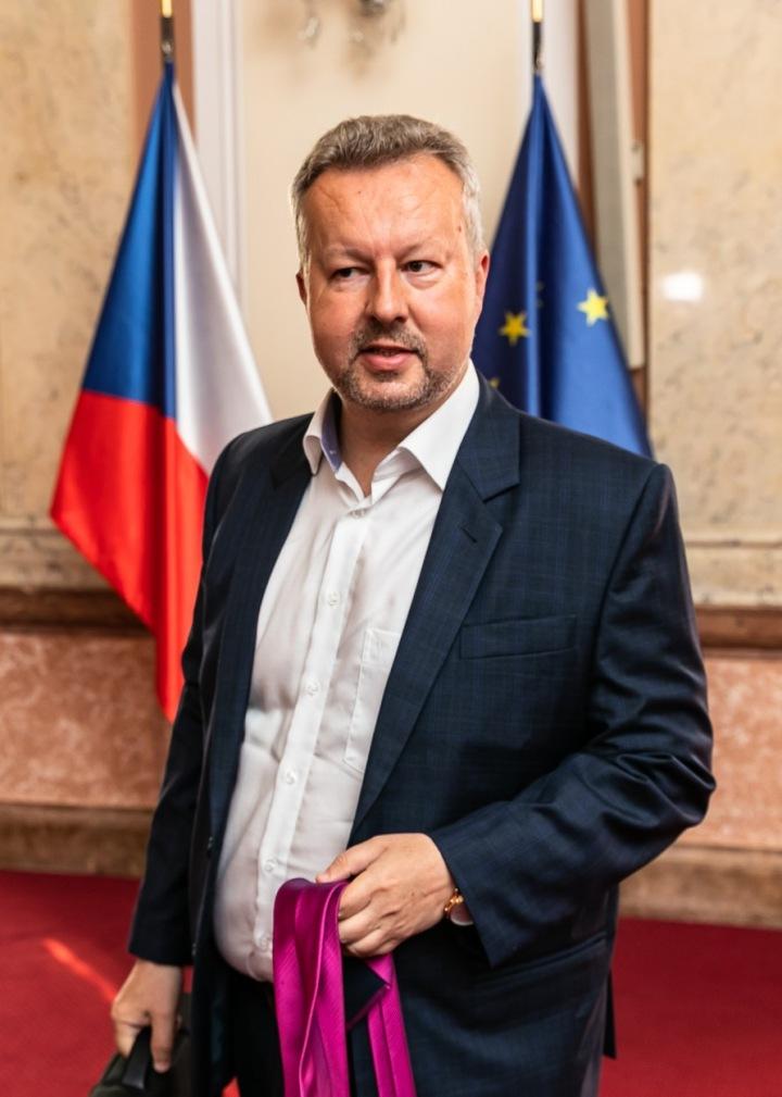 Ministr životního prostředí Richard Brabec