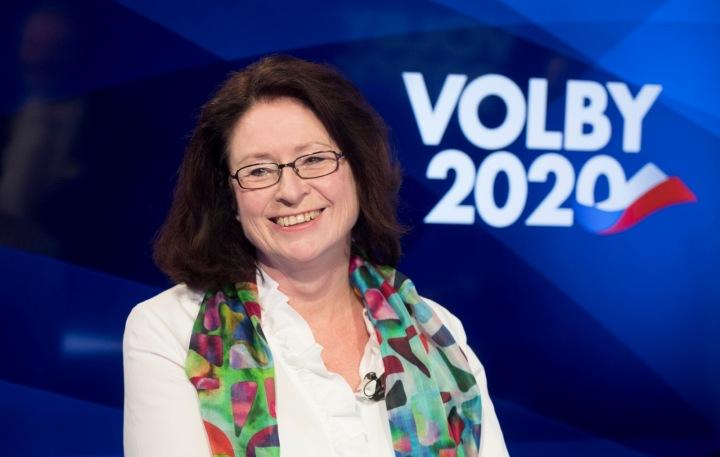 Miroslava Němcová kandidovala do Senátu.