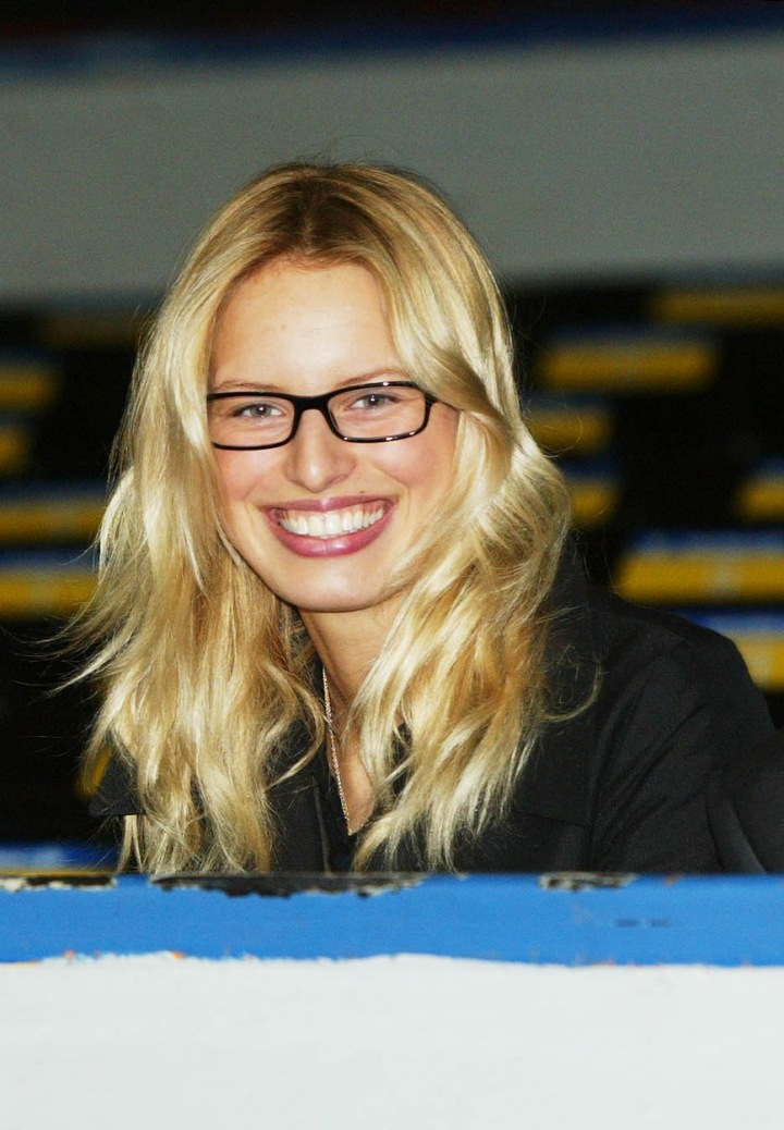 Mladá Karolína Kurková.