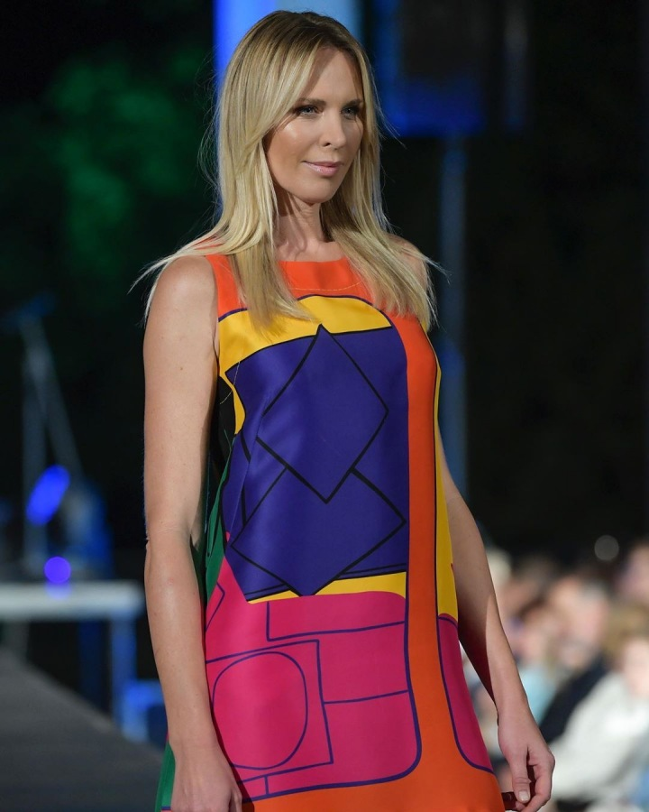Modelka Diana Kobzanová