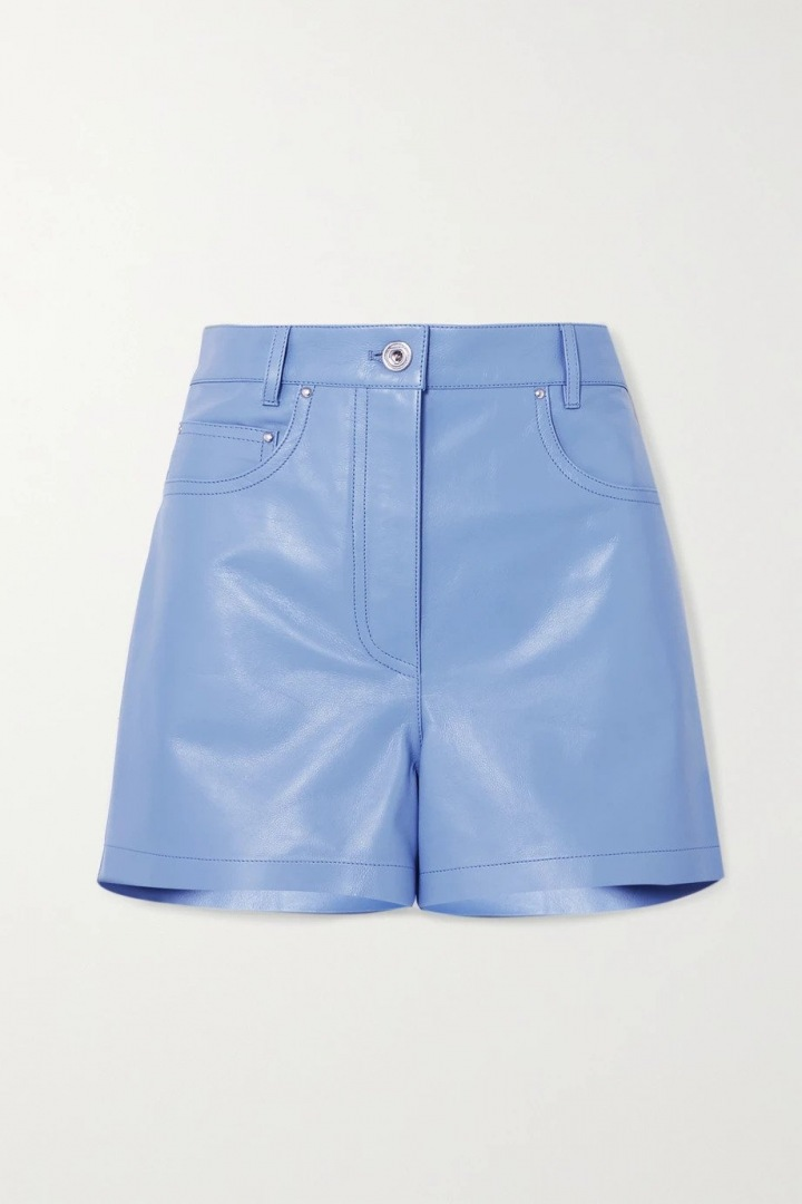 Modré šortky Salvatore Ferragamo