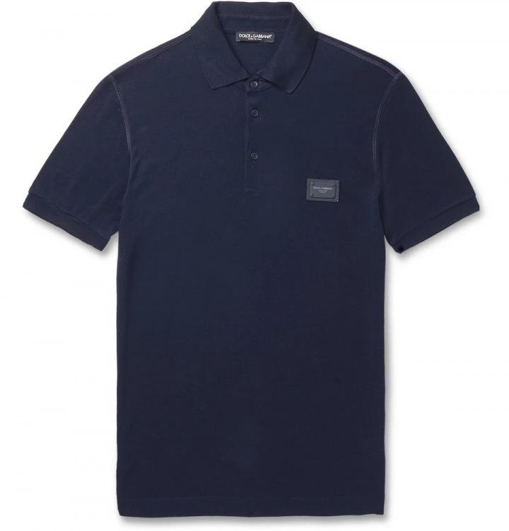 Modré tričko Dolce & Gabbana