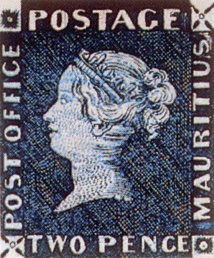 Modrý mauritus.