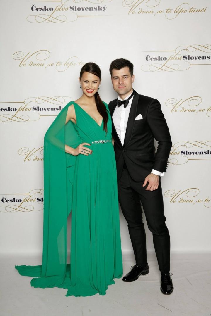 Monika Leová s manželem Martinem Košínem.