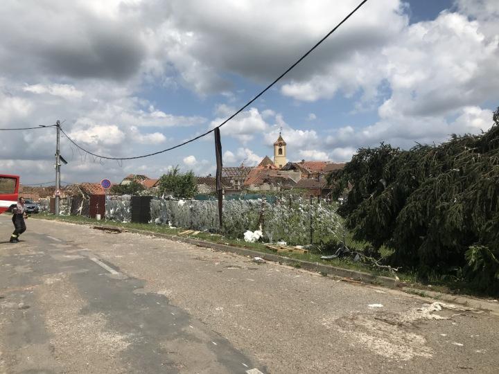 Pohled na Moravskou Novou Ves.