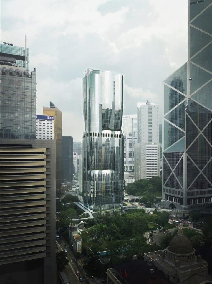 Mrakodrap v Hongkongu