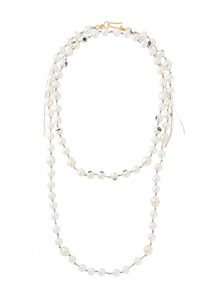 Vrstvený náhrdelník z perel Marni