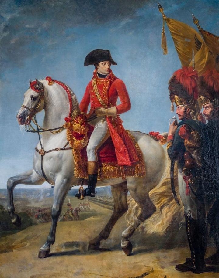Napoleon Bonaparte v bitvě u Marenga - zbraň, kterou zde použil, je nejdražší vydraženou zbraní světa