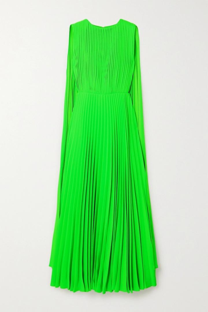 Neonové šaty Valentino
