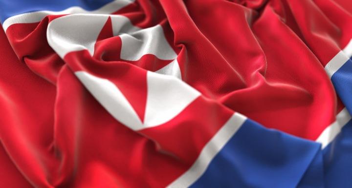 Severokorejská vlajka