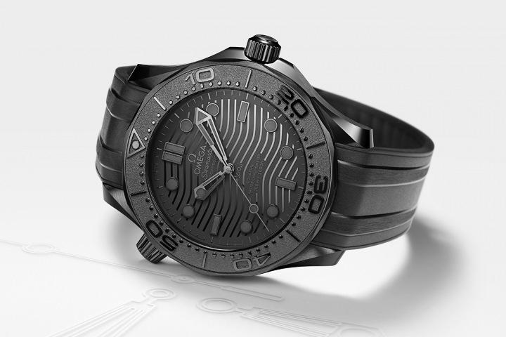 Nové potápěčské hodinky OMEGA Seamaster Diver 300M Black Black
