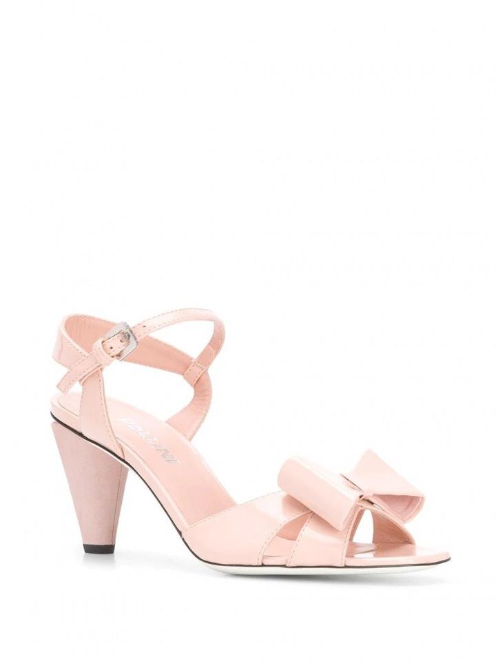 Nude sandálky Pollini