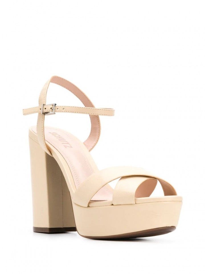 Nude sandále Schutz