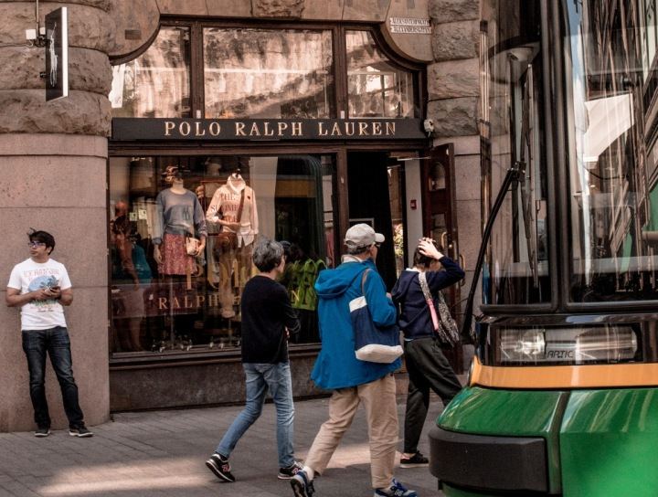 Obchod Ralph Lauren ve finských Helsinkách