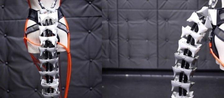 Robotický ocas může pomoci udržet lidem lepší balanc