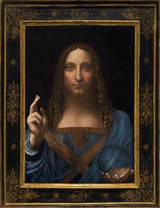 Salvator Mundi od Leonarda da Vinciho