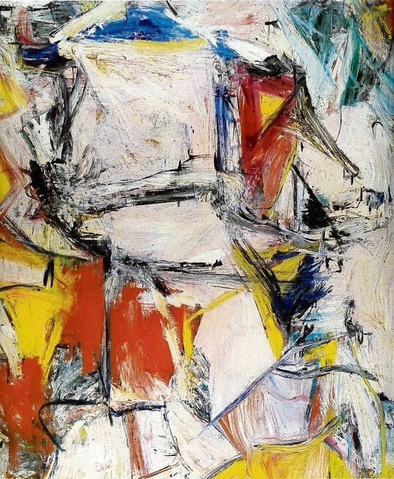 The Exchange from the Dutch-American painter Willem de Kooning