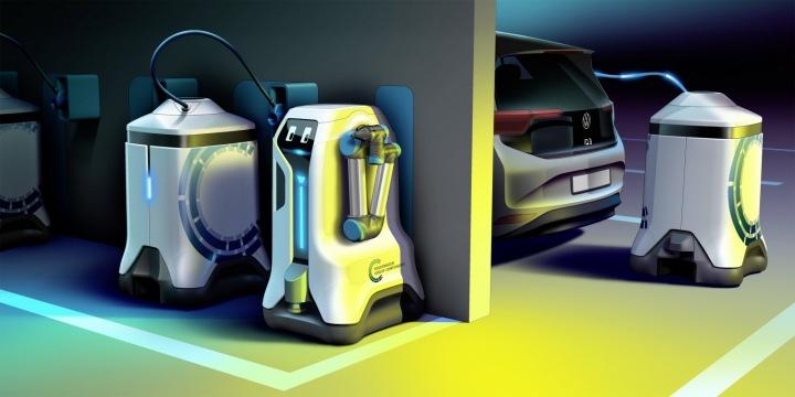 Robota si budou moci řidiči zavolat třeba přes mobilní aplikaci.