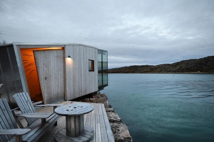 Využít zde můžete i saunu.