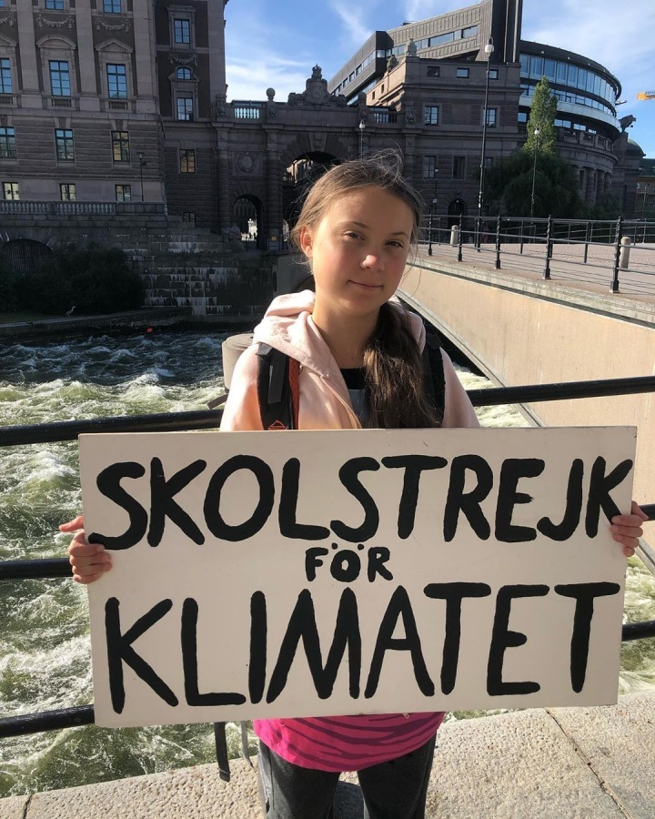 Aktivistka Greta Thunberg