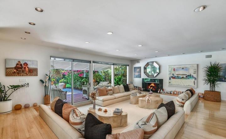 Obývací část domu zpěvačky Adele