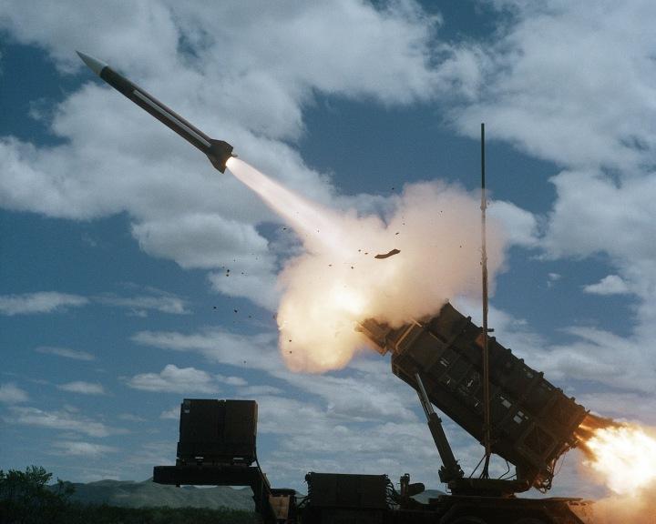 Odpálená raketa