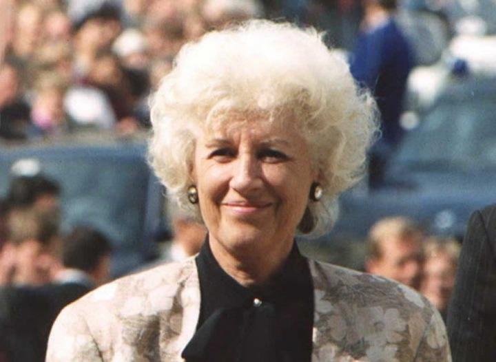 Olga Havlová, zakladatelka Výboru dobré vůle