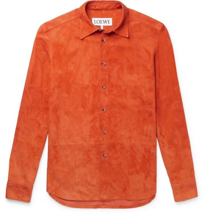 Oranžová košile LOEWE