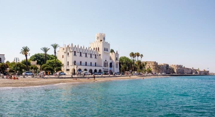Hlavní město ostrova Kos.