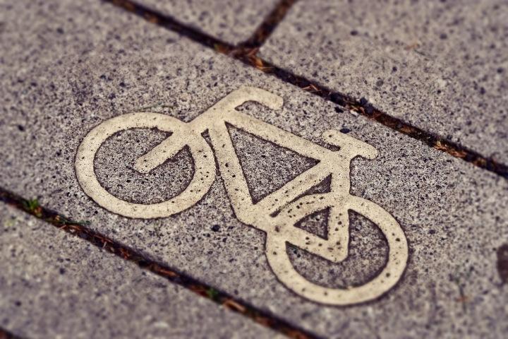 Označení cesty pro kola