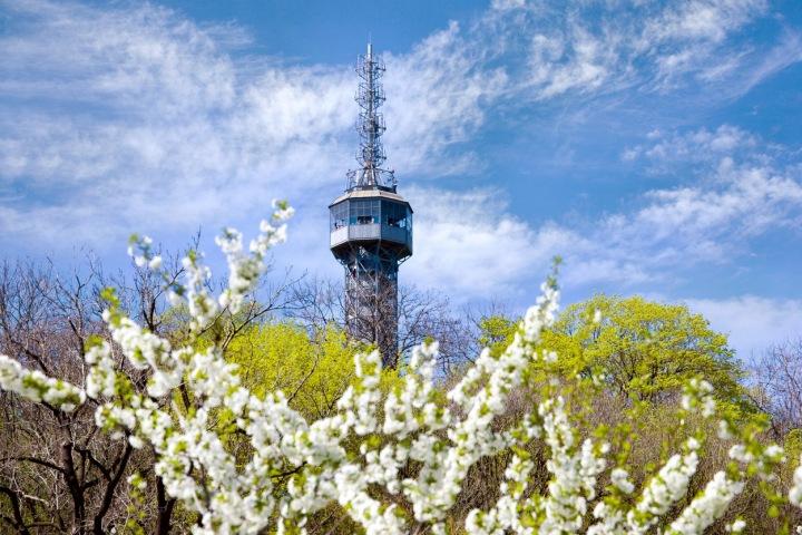 Petřínská věž.