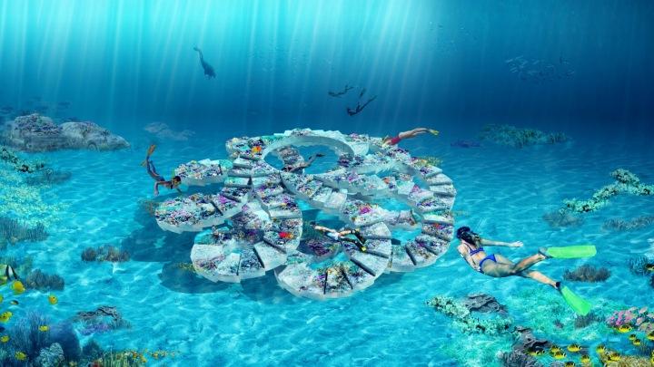 Podmořský sochařský park The ReefLine