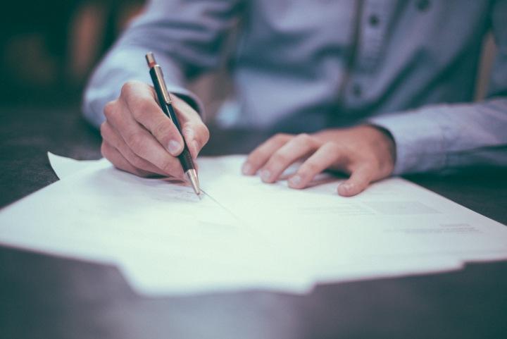 Podpis dokumentů
