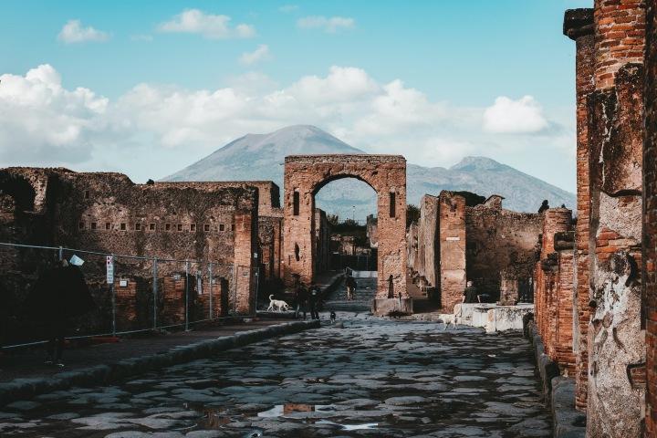 Archeologický park Pompeje