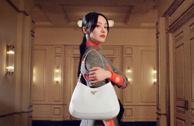 Čínská hvězda Zheng Shuang v kampani Prada