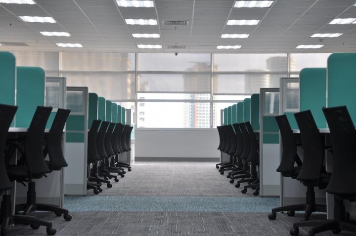 Prázdný kancelářský prostor