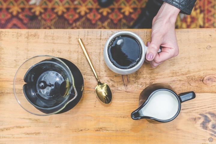 Káva s mlékem