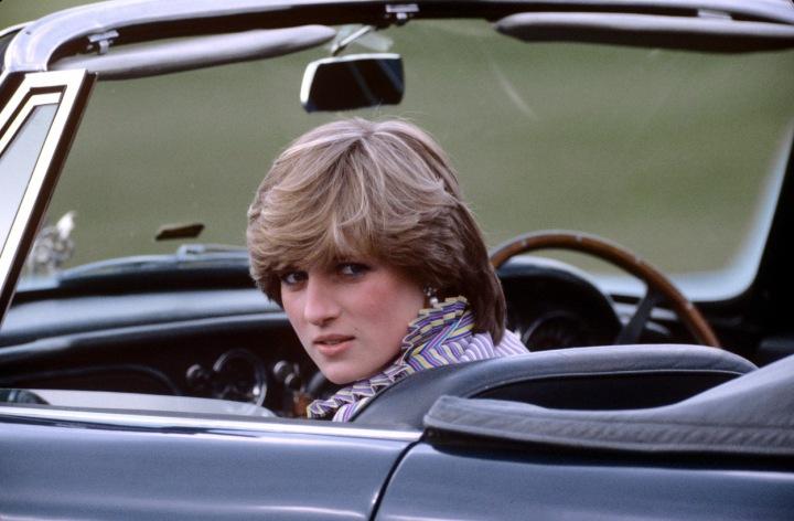 Princezna Diana v roce 1981
