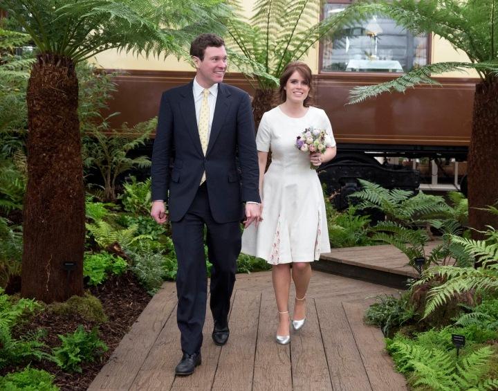 Princezna Eugenie z Yorku a Jack Brooksbank