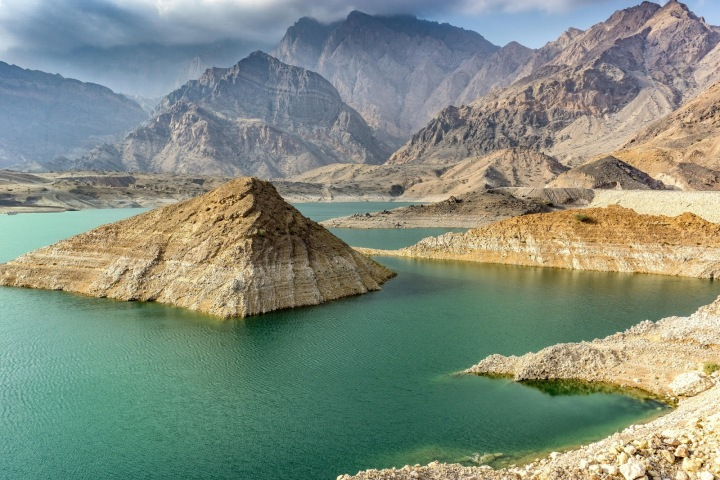 Příroda v Ománu.