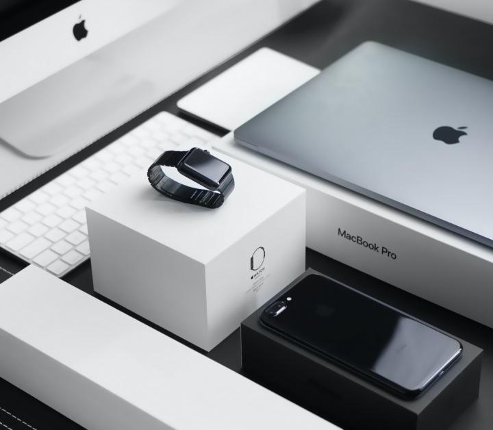 Produkty od firmy Apple