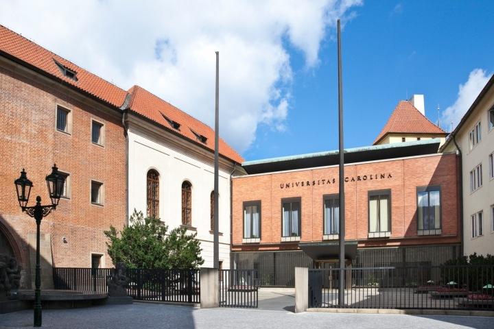 Budova Univerzity Karlovy
