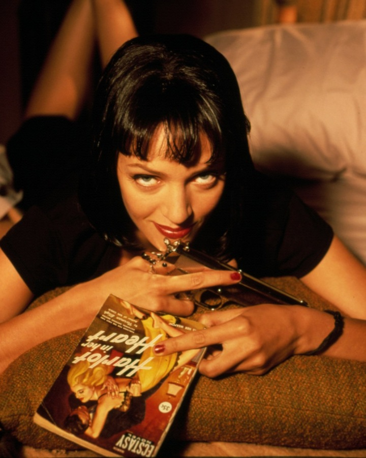 Nezapomenutelná Uma Thurman ve své parádní roli ve filmu Kill Bill