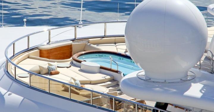 Na jachtě Topaz plul v roce 2014 i Leonardo di Caprio