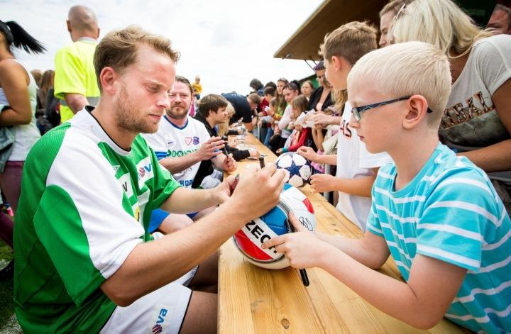 Jakub Prachař na charitatvním zápase