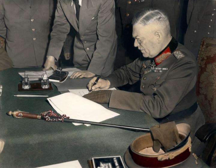 Kapitulace Německa 1945